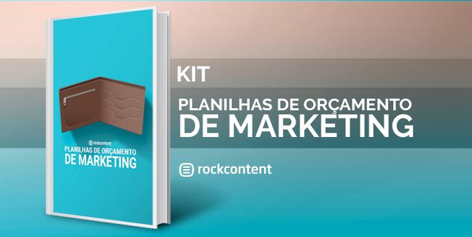 Planilhas de Orçamento de Marketing